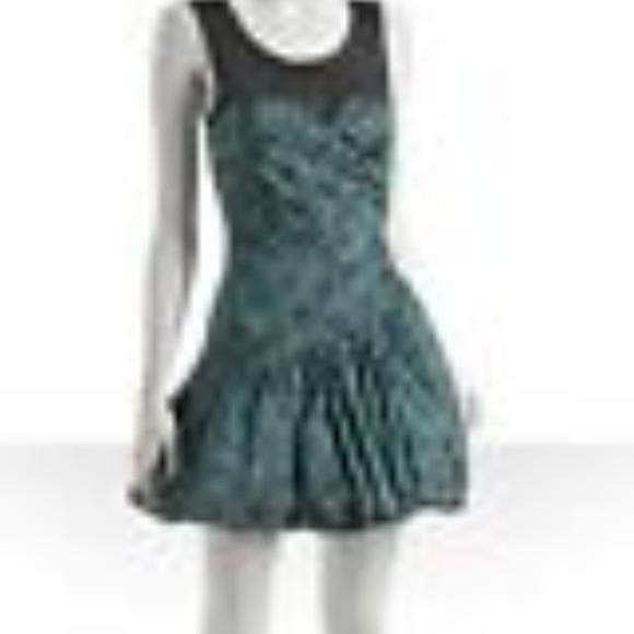 Betsey Johnson Dresses & Skirts - Betsey Johnson Glamorama Illusion Silk Dress Size6